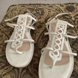 Coach Shoes - Coach signature strappy flat sandals